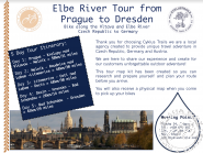 SELF GUIDED BICYCLE TOUR from Prague to Dresden
