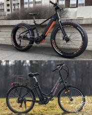 FAT TIRE vs Regular Electric Bike rental - Praha Bike