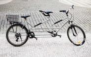 Tandem bike -Praha Bike rent in Prague